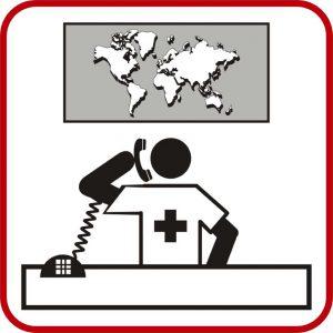 Piktogramm rot Hintergrunddienst
